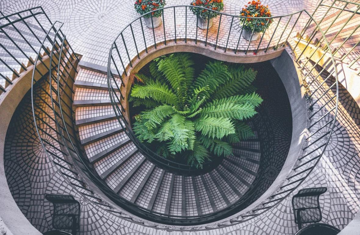 moderní schodiště
